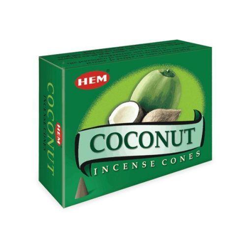Incense Cones HEM Coconut