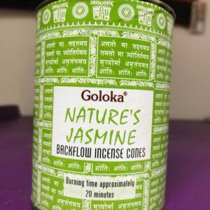 Backflow Cones Goloka Natures Jasmine