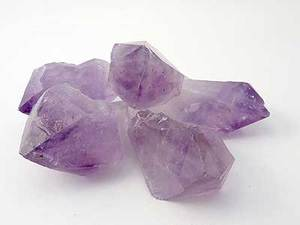 Crystal Gem Points Amethyst