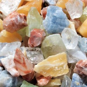 Crystal Gem Rough Mixed Calcite