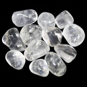 Crystal Gem Tumblestone Clear Quartz