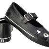 TUK Shoes Black Kitty Mary Jane Sneaker Large
