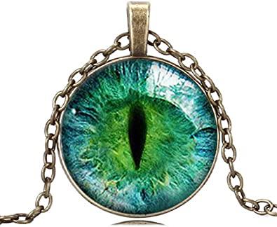 Cabachon Green Eye