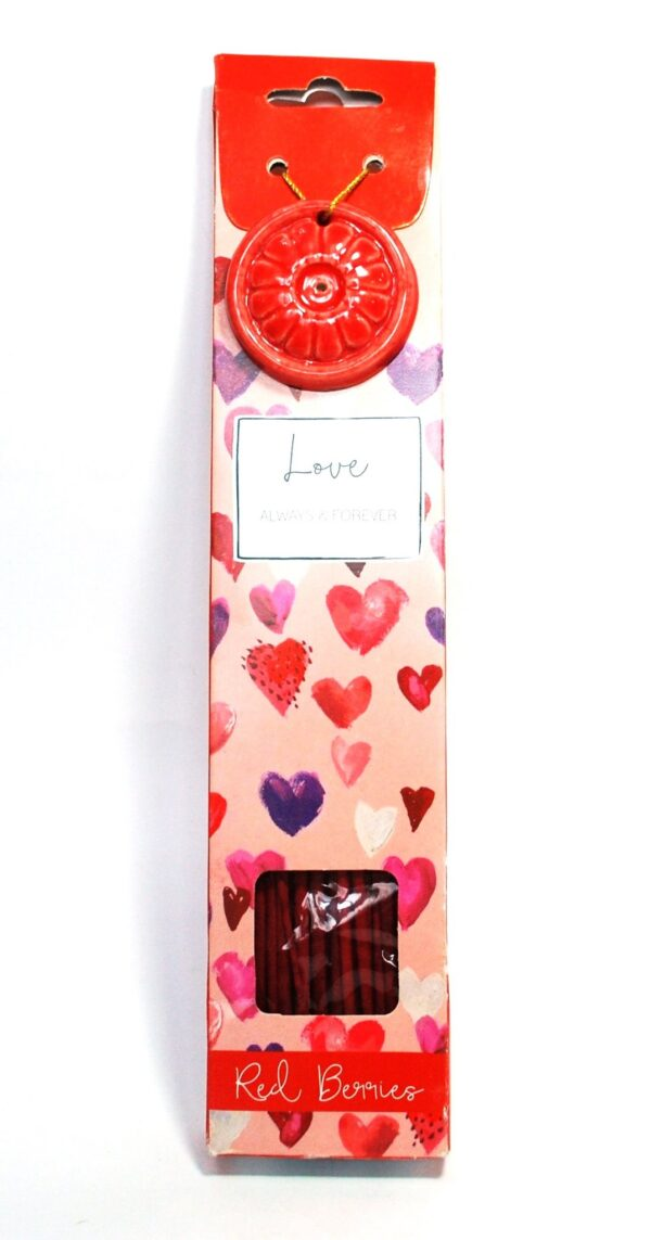 Incense Gift Pack Love Red Berries
