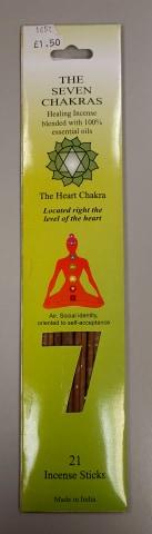Incense Gift Pack Seven Chakras Heart
