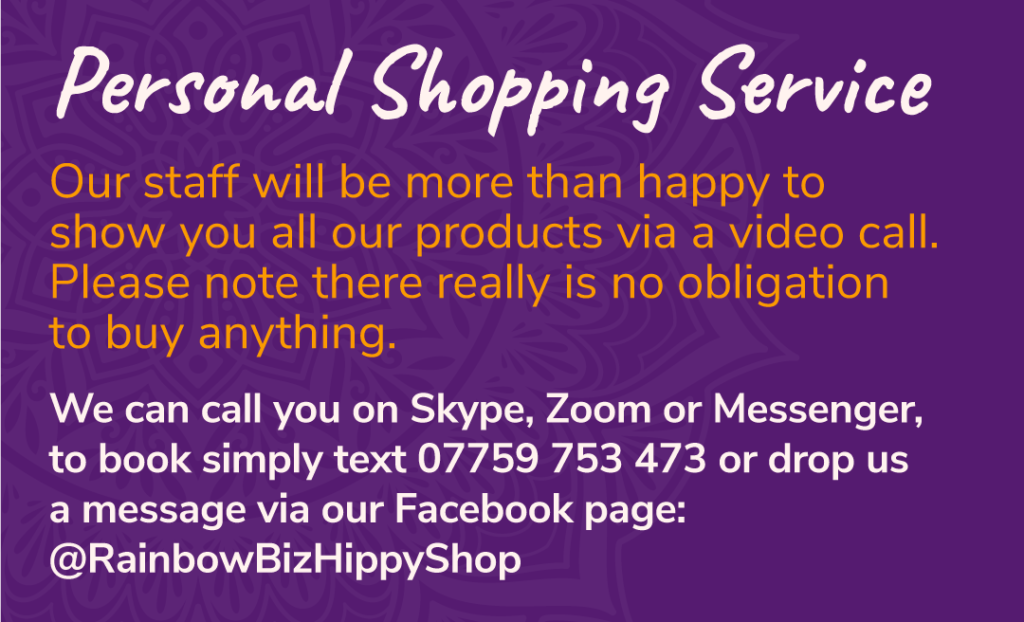 Personal Shopper Information Banner