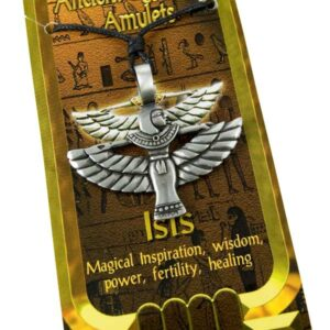 Pewter Pendant Ancient Egyptian Amulets Isis