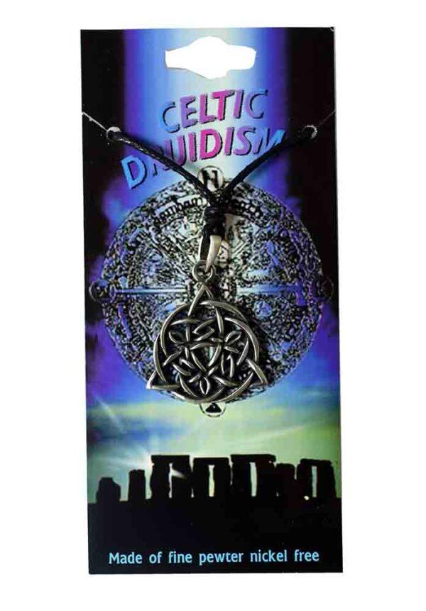 Pewter Pendant Celtic Druidism Triquetra