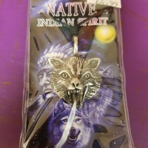 Pewter Pendant Gift Wolf