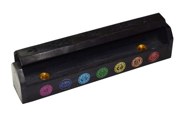 Ash Catcher Incense Holder Chakra Black