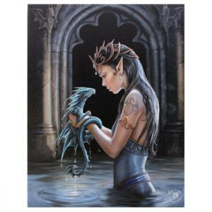 Canvas Anne Stokes Water Dragon