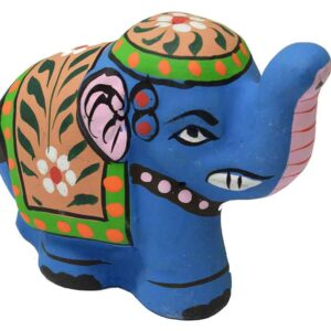Incense Stick Holder Elephant Blue