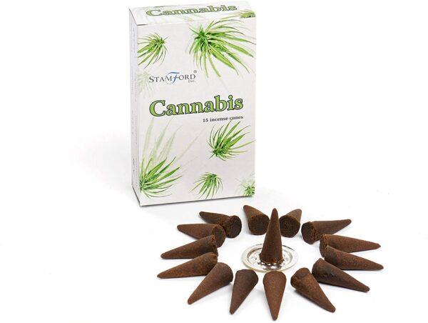 Stamford Incense Cones Cannabis