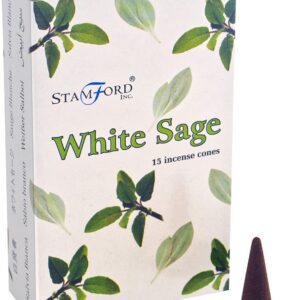 Stamford-Incense Cones White Sage
