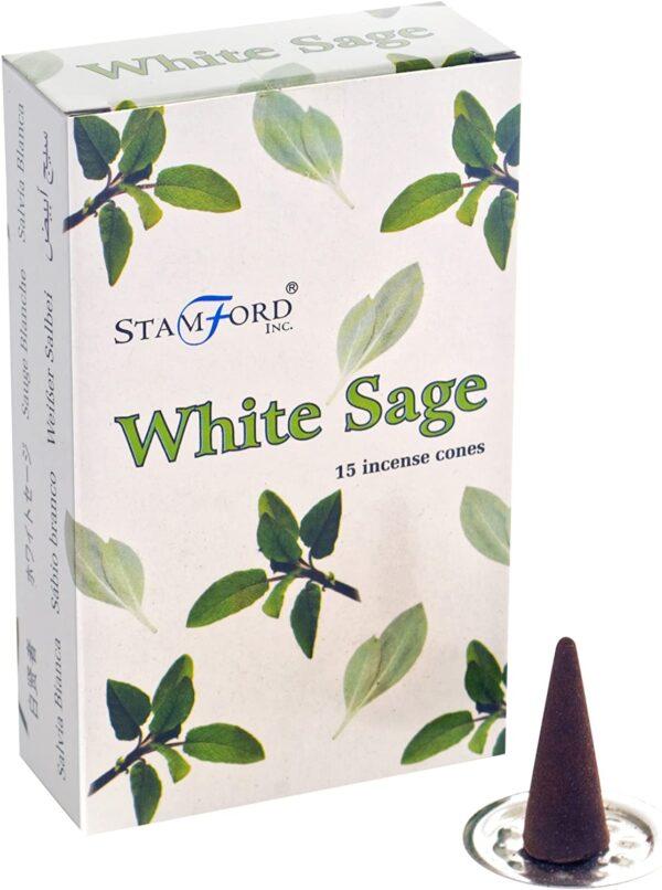 Stamford-Incense Cones White Sage