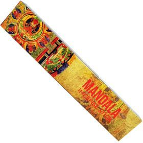 New Moon Aromas Mandala Incense Sticks