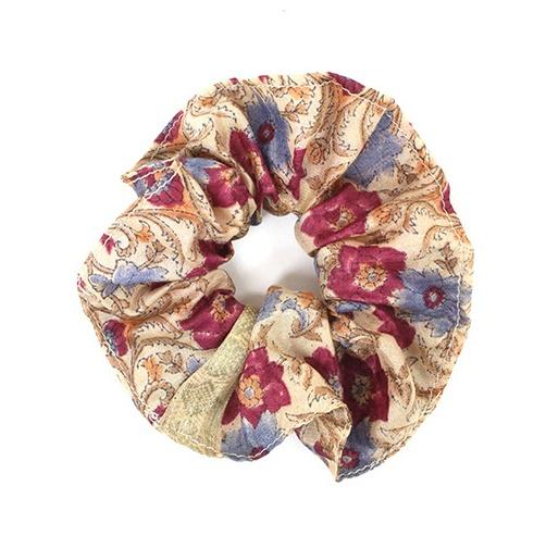 Sari Scrunchie Colour Recycled