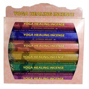 Yoga Healing Incense Gift Set