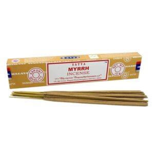 Satya Incense Sticks Myrrh