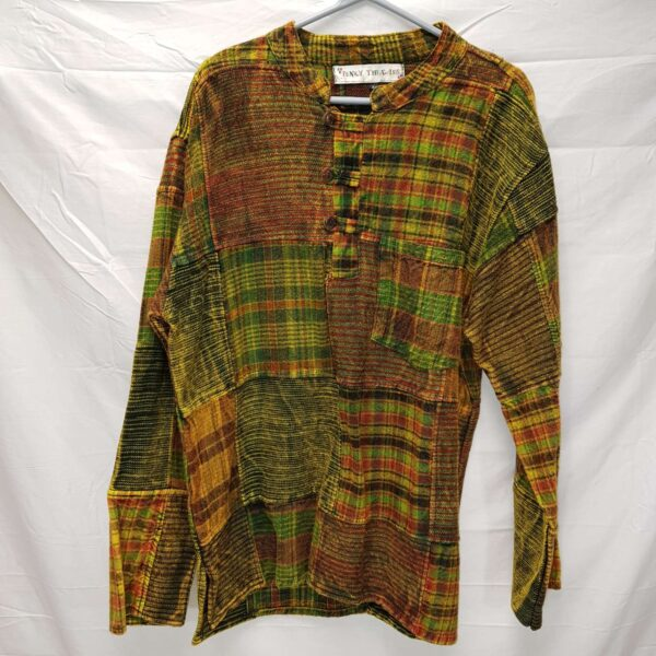 Brushed Cotton Shirt Green