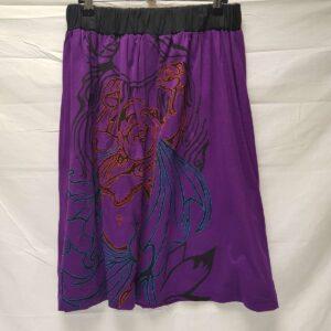 Buddha Purple Skirt