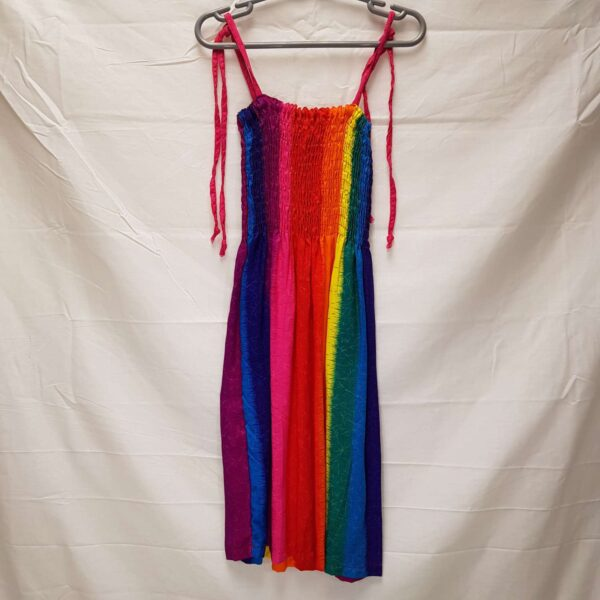 Childrens Rainbow Adjustable Dress