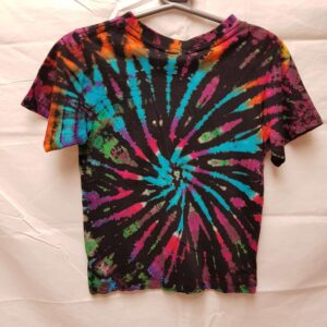Childrens Tie Dye Teeshirt Blue
