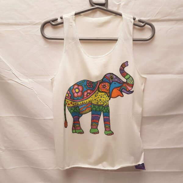 Childrens Vest Elephant