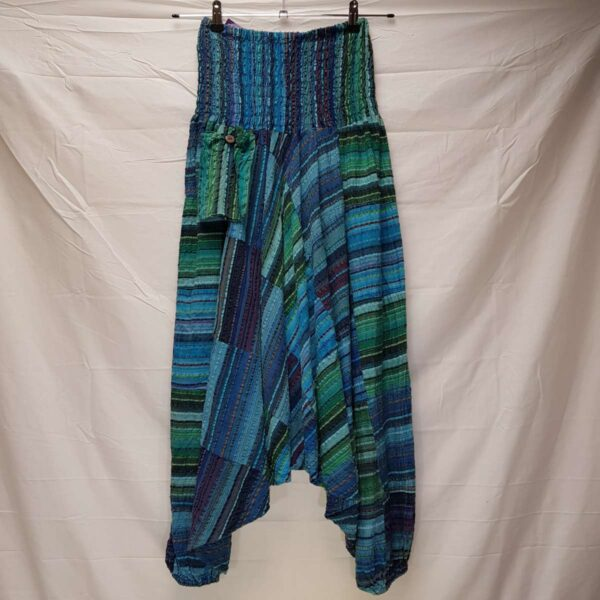 Cosy Harem Trousers Blue