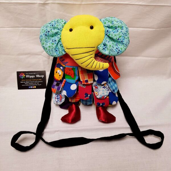 Elephant Bag Yellow Blue