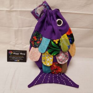 Fish Bag Purple