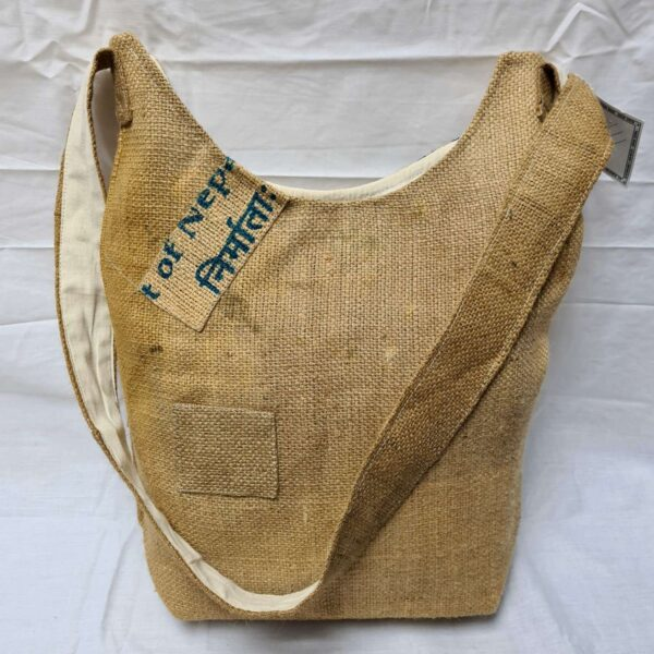 Gringo Recycled Rice Bag Back