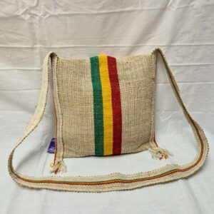 Hemp Messenger Bag Back
