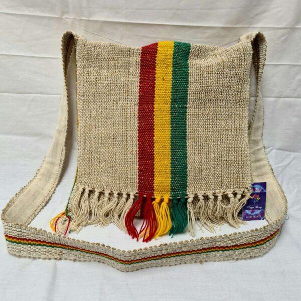 Hemp Messenger Bag Front