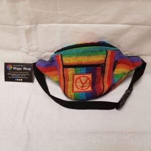 Hippy Bum Bag Rainbow