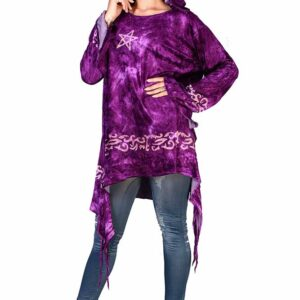 Jordash Purple pagan velvet top