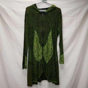 Long Velvet Jacket