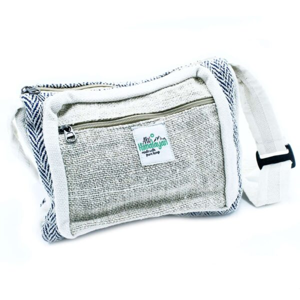 Messenger Bag Hemp Cotton Natural