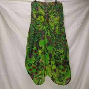 Pocket Skirt LXL Green