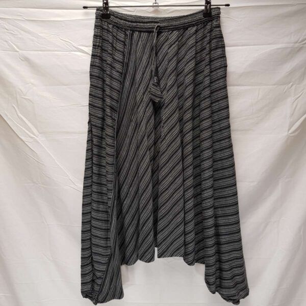 Striped Harems Black