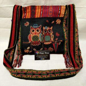 Tapestry Bag Owls