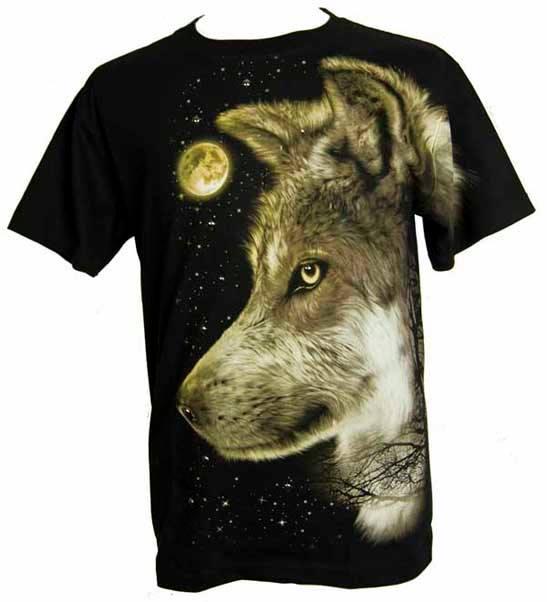 Tee Shirt Lone Wolf
