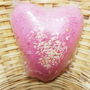 Bath Fizz Heart Holly Berry Mistletoe Hippy