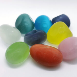 Crystals Tumblestones Cats Eye Colour