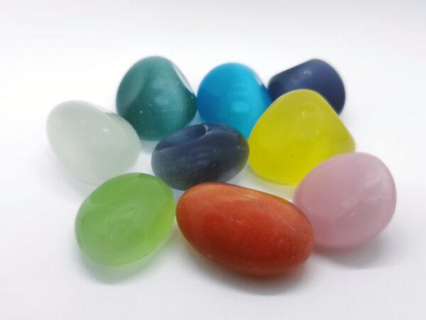 Crystals Tumblestones Cats Eye Colour