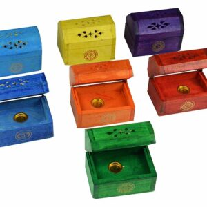 Incense Cone Firebox Multi Colours