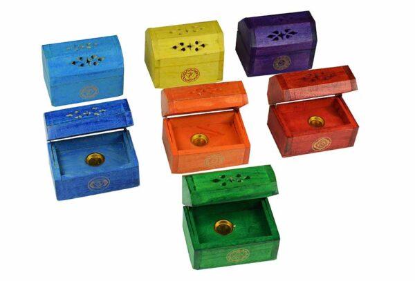 Incense Cone Firebox Multi Colours