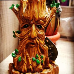 Green Man Incense Cone Burner