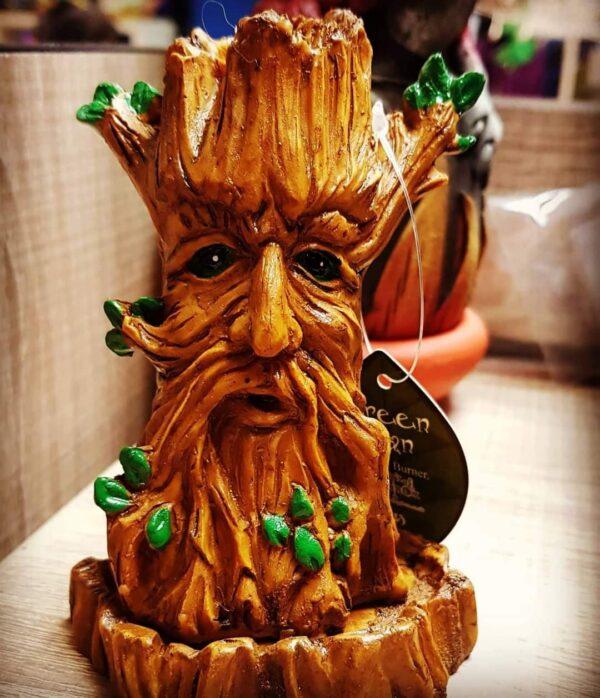 Green Man Incense Cone Burner
