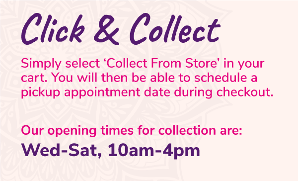 Click & Collect times for Mold Shop